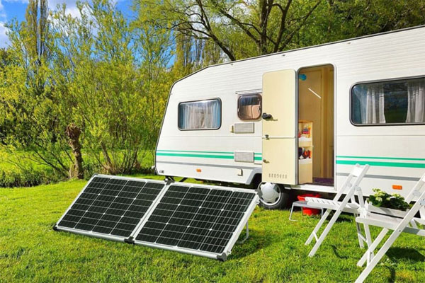 120W Fold glass solar panel kit
