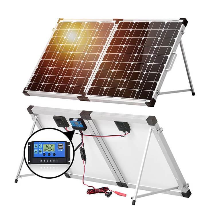 Fold solar panel kit