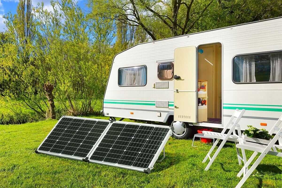 Fold glass solar panel kit