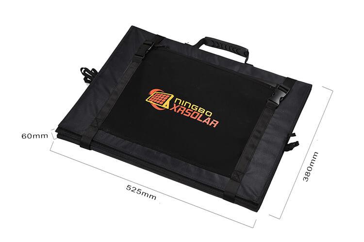 folding solar panel blanket