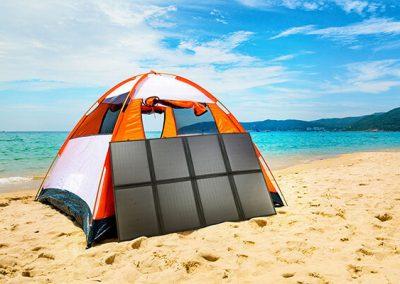 200W Folding Solar Panel Blanket for Camping