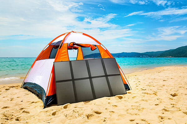 200W Folding Solar Panel Blanket for Camping