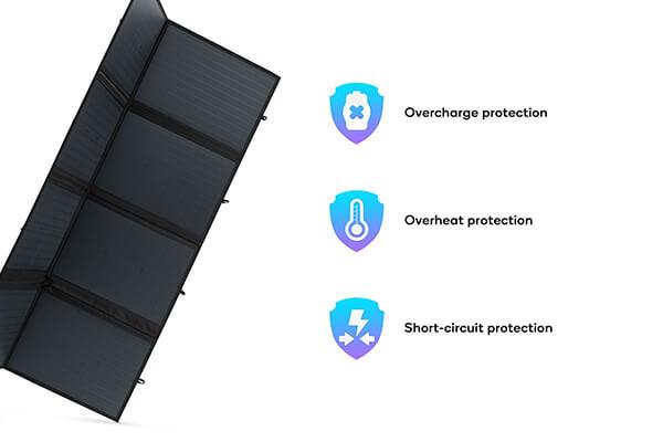 200w folding solar panel kit