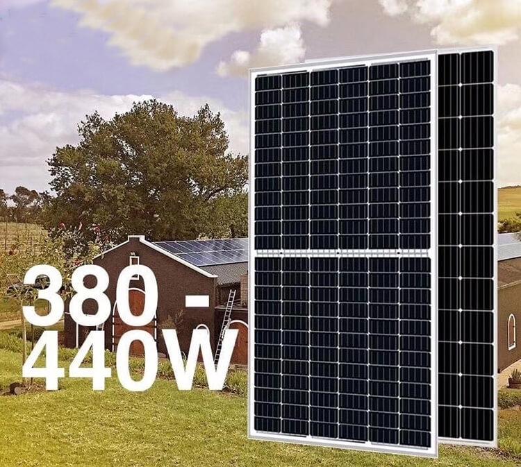 400w half cell solar module