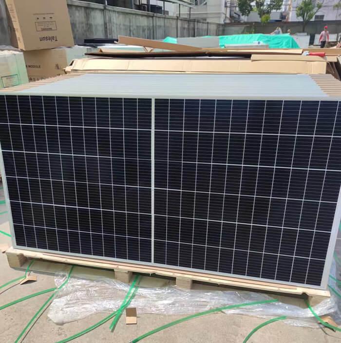 400w half cell solar panel